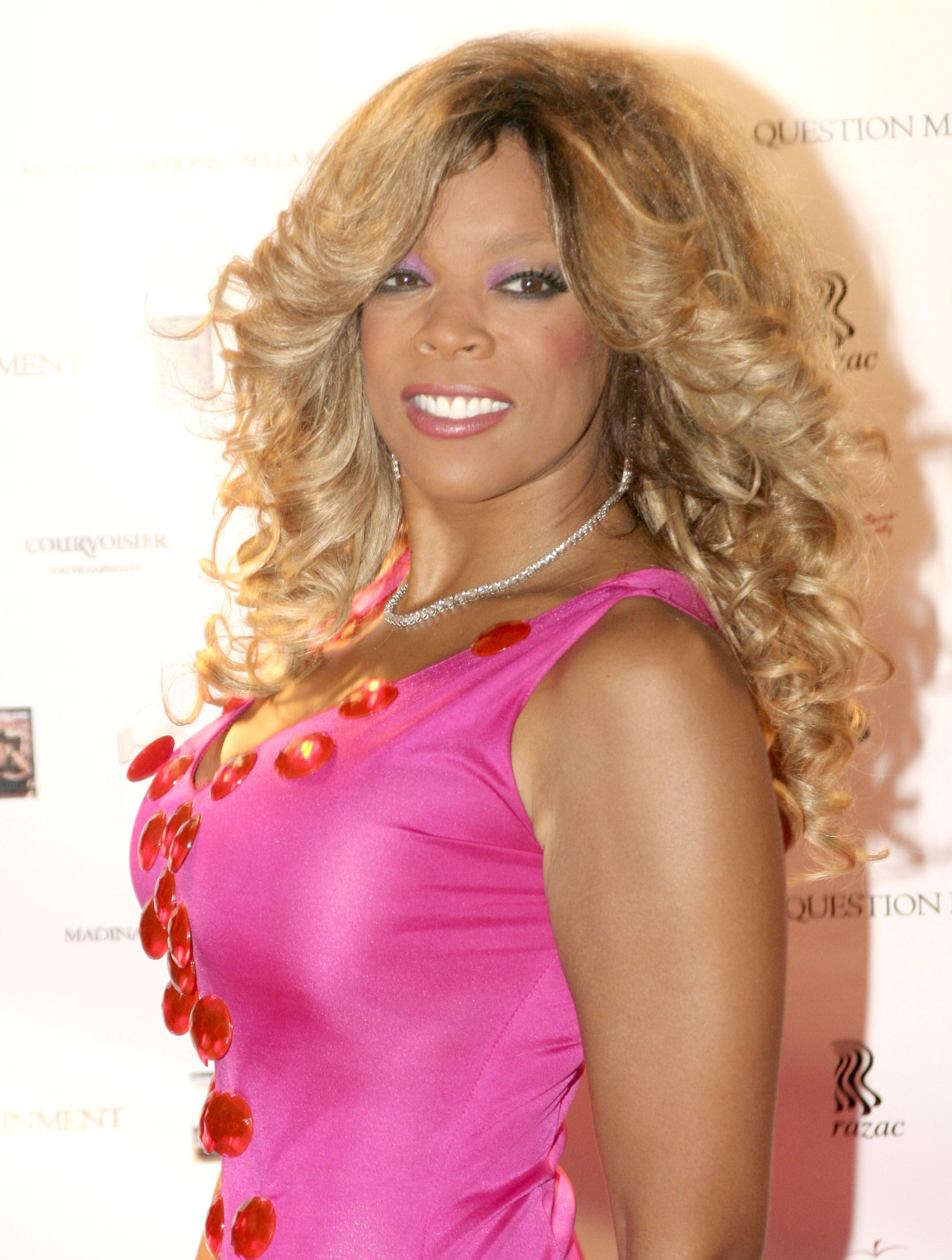 """TV host Wendy Williams during the release party for """"Wendy Williams Bring the Heat Volume 1"""" in 2005 in New York City. 