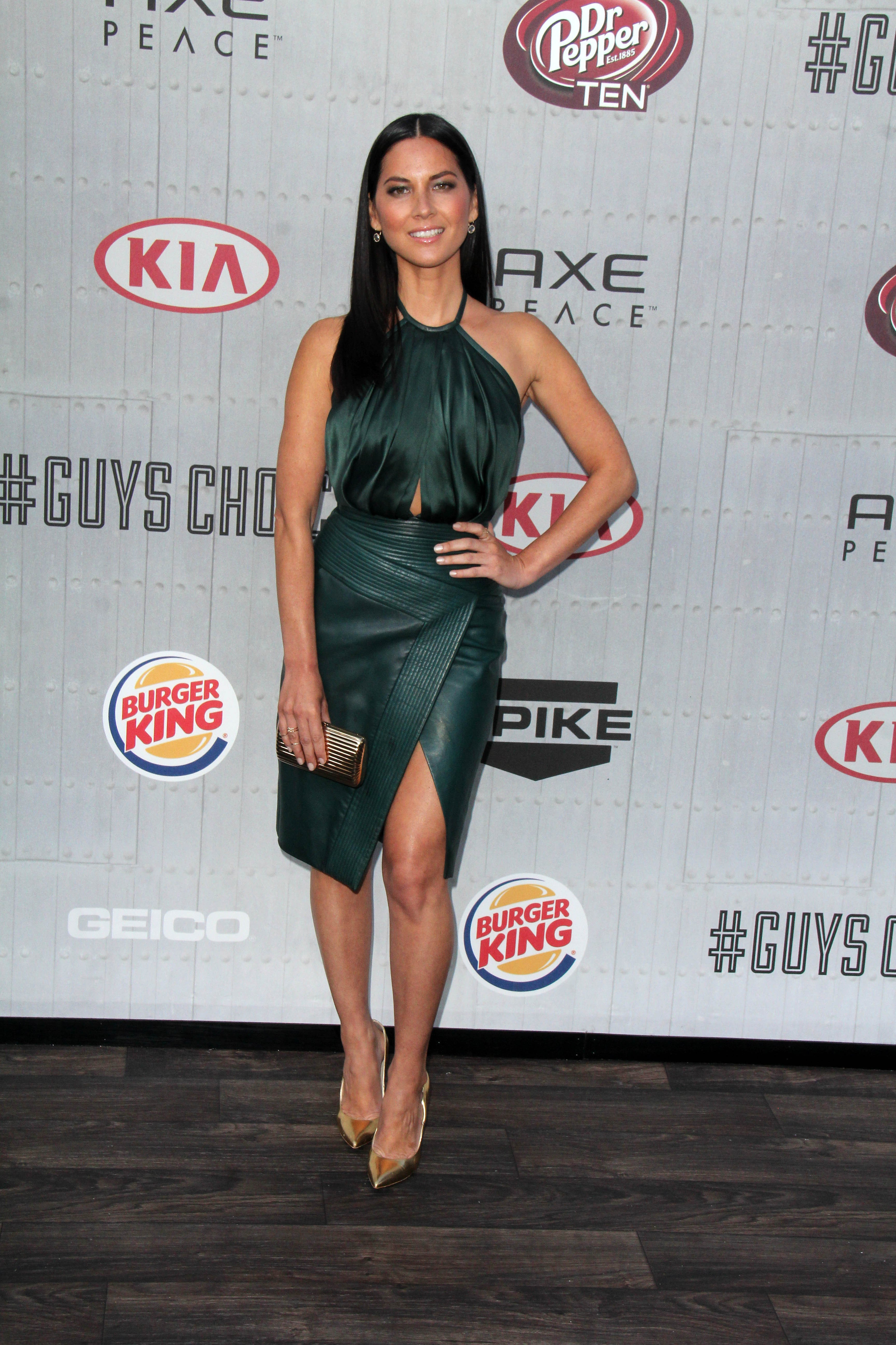 """Actress Oliva Munn at the Spike TV's """"Guys Choice 2014"""" Awards at Sony Studios on June 7, 2014 in Culver City, California   Photo: Shutterstock"""