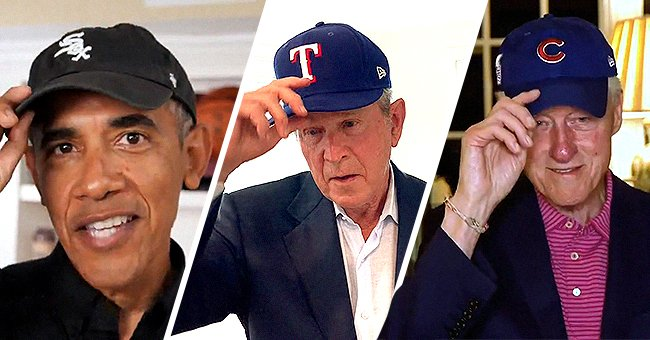 George W Bush, Bill Clinton & Barack Obama Tip Caps on 100th Anniversary of the Negro Leagues