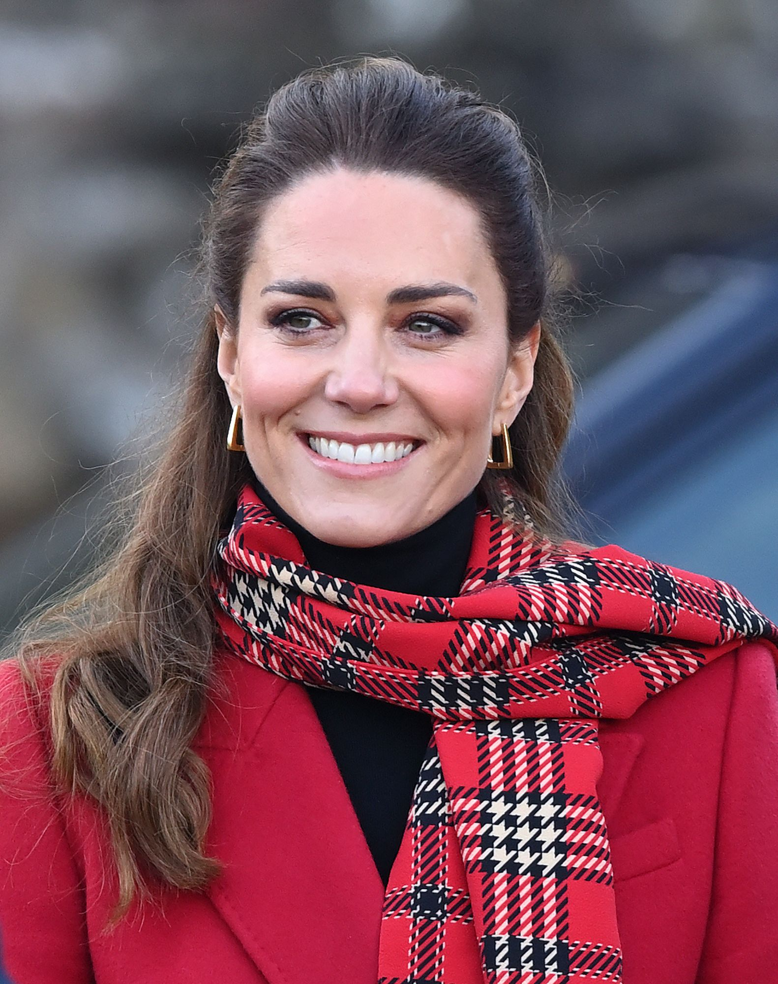 Kate Middleton, Duchess of Cambridge visits Cardiff Castle in Wales on December 8, 2020   Getty Images