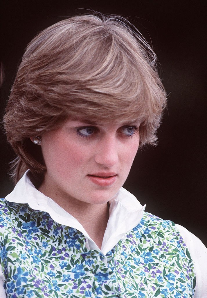 Diana, Princess of Wales at a polo match before she married in 1981 | Photo: Getty Images