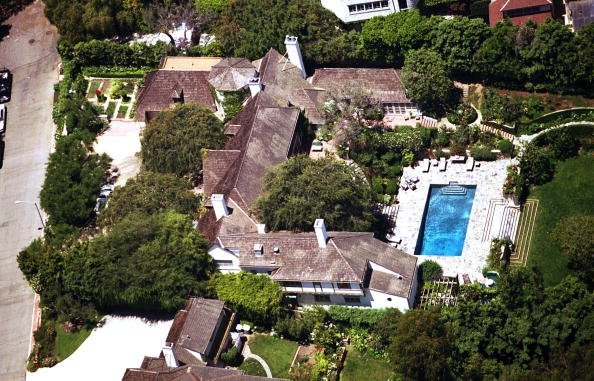 Brad Pitt and Jennifer Aniston's former home / Photo: Getty Images