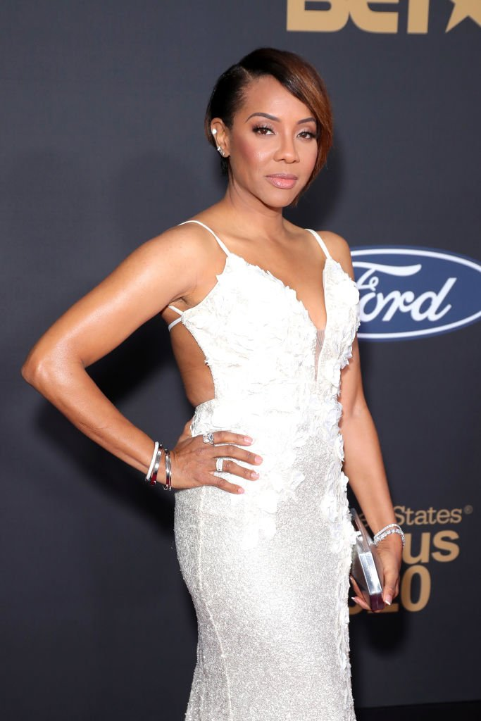 MC Lyte arrives on the red carpet at the NAACP Image Awards on February 22, 2020, in Pasadena, California | Source: Leon Bennett/Getty Images for BET