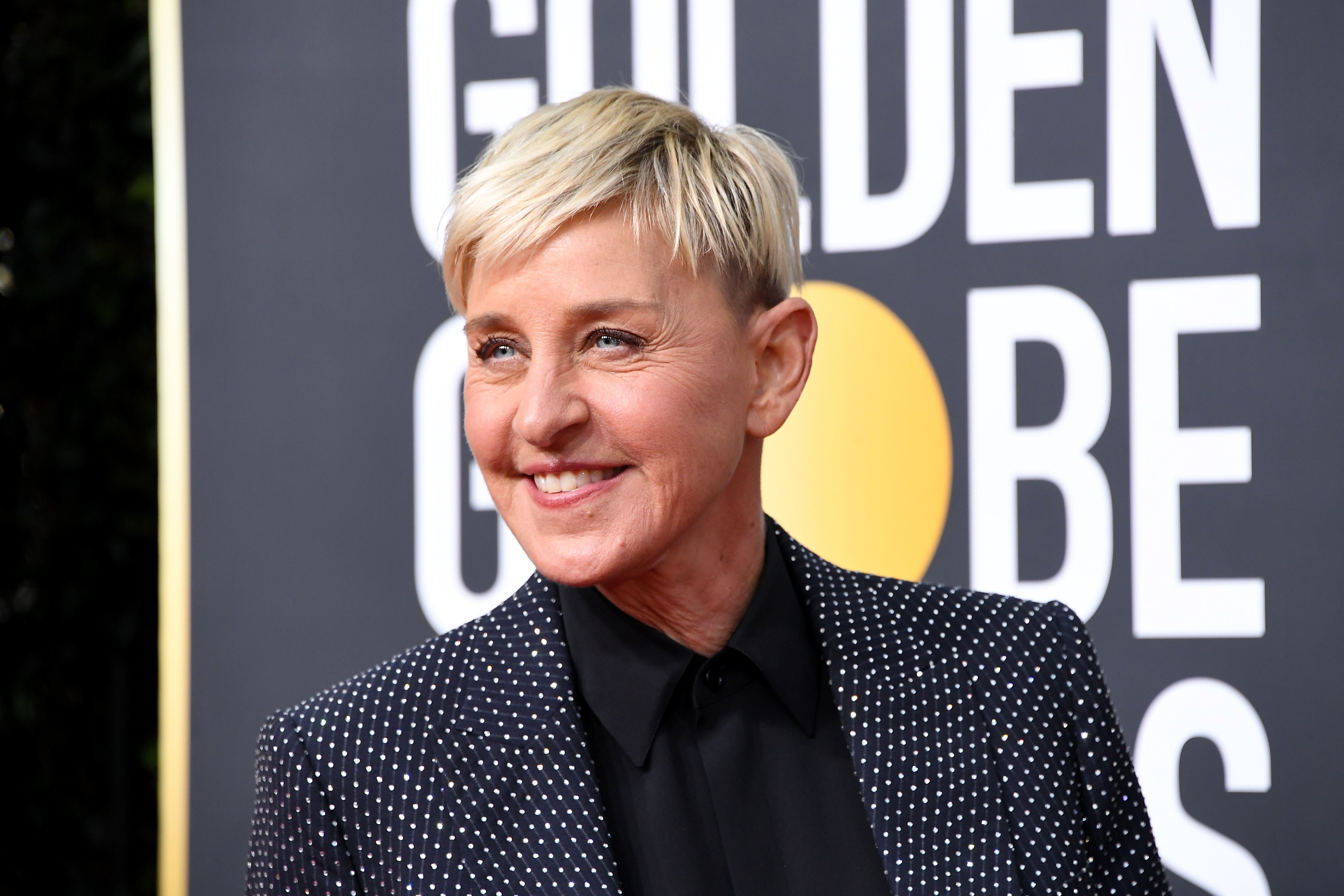 Ellen DeGeneres attends the 77th Annual Golden Globe Awards on January 05, 2020. | Photo: Getty Images