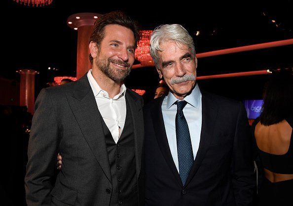 Sam Elliot and Bradley Cooper attend the 91st Oscars Nominees Luncheon at The Beverly Hilton Hotel on February 04, 2019 in Beverly Hills, California | Photo: Getty Images