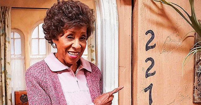 227 Star Marla Gibbs Wows in Rhinestone-Covered Jumpsuit in Pics from Making of Her Music Video