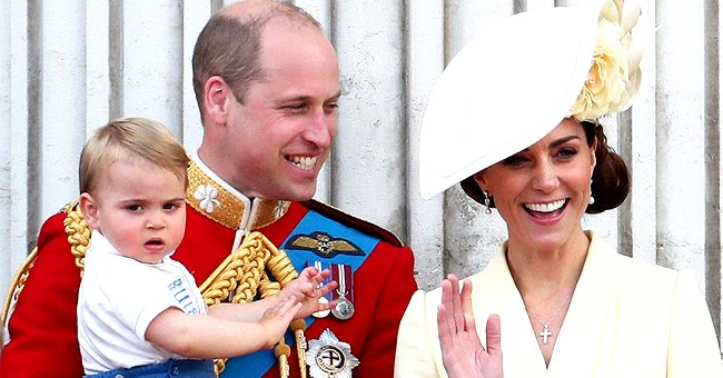 Kate Middleton Reportedly Shared Her Pride in Prince Louis' Balancing Milestone at 1st 2020 Public Appearance