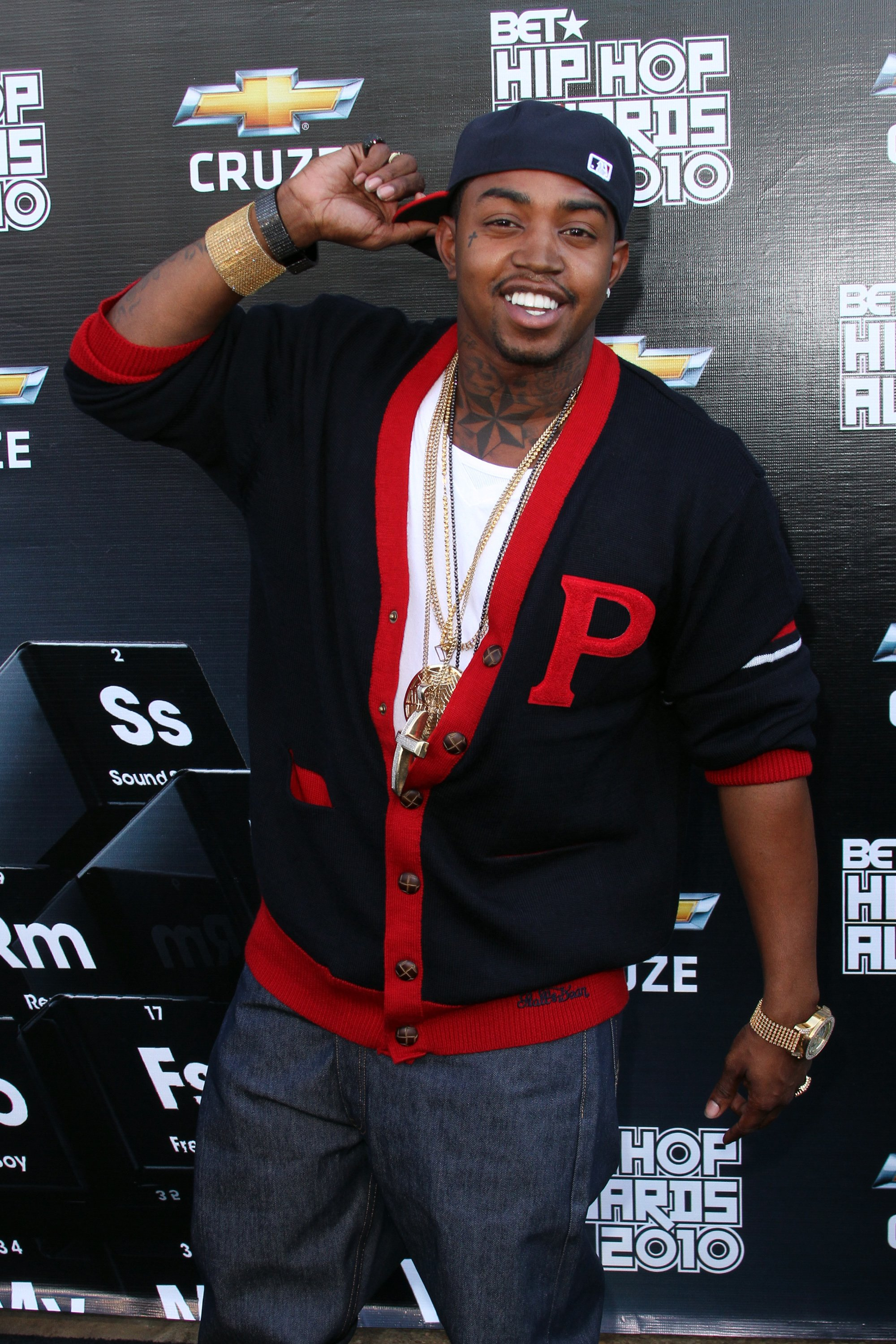 Lil Scrappy at Boisfeuillet Jones Atlanta Civic Center on October 2, 2010.   Photo: Getty Images