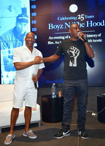 John Singleton and Chaka Zulu at the Celebration of 25 Years - Boyz N The Hood on August 23, 2016 | Photo: Getty Images