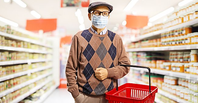 Daily Joke: An Old Man Spots an Attractive Lady at the Grocery Store