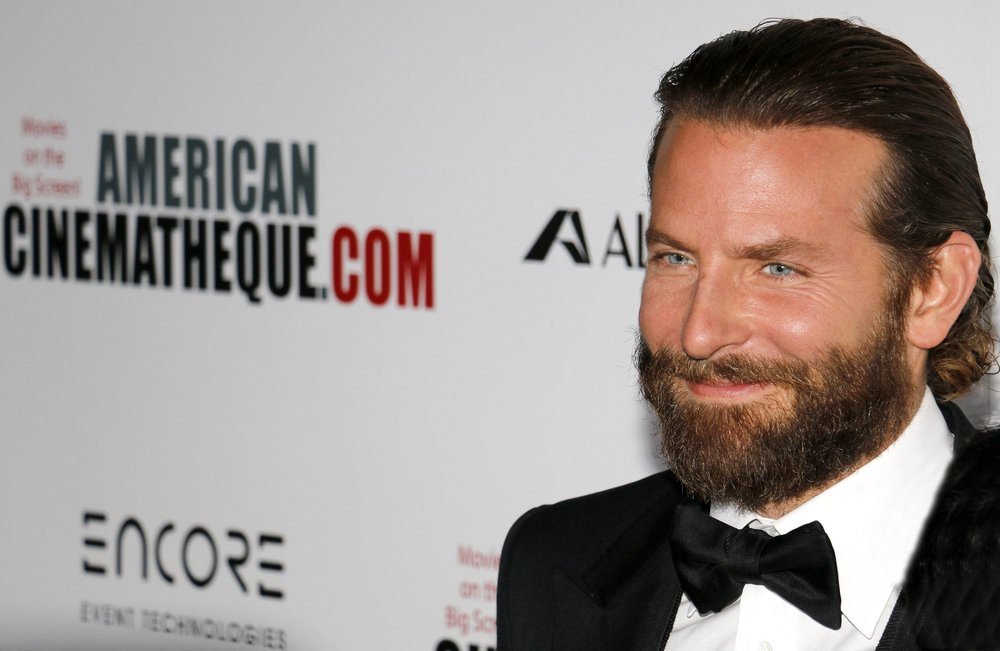 Bradley Cooper at the 30th Annual American Cinematheque Awards Gala held at the Beverly Hilton Hotel in Beverly Hills, USA on October 14, 2016 |Shutterstock