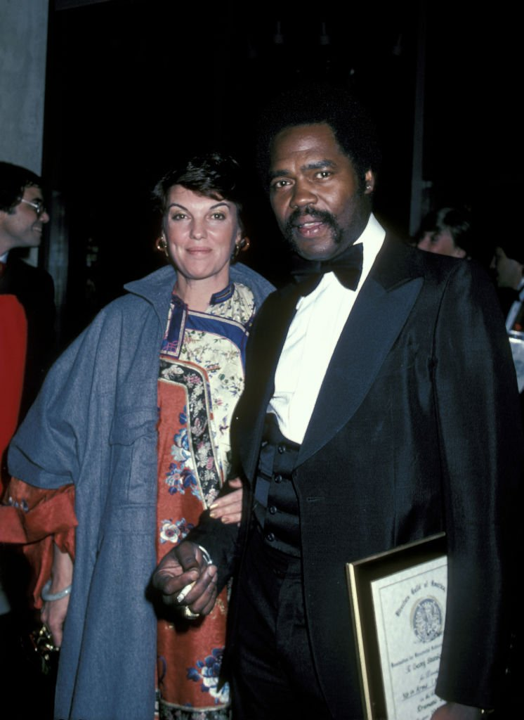 Tyne Daly and Georg Stanford Brown at the 34th Annual Directors Guild of America Awards at Beverly Hilton Hotel in Beverly Hills   Photo: Getty Images