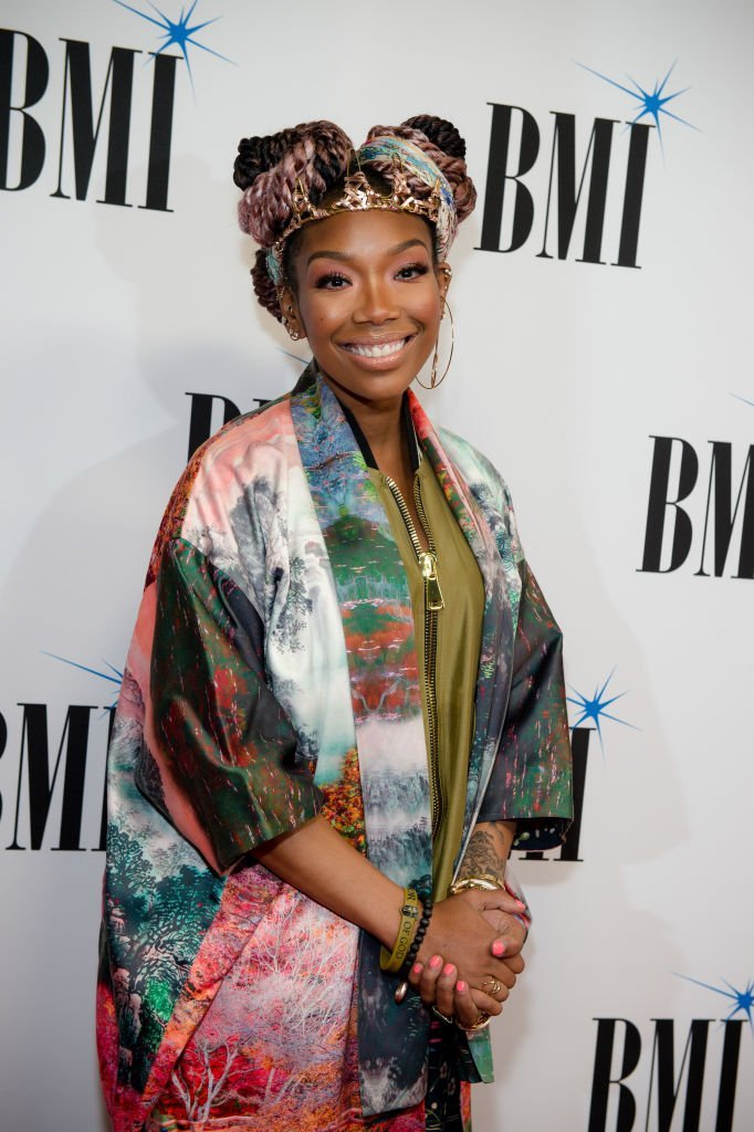 Singer-songwriter Brandy attends the 2019 BMI R&B/Hip-Hop Awards | Photo: Getty Images