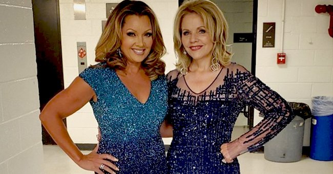 Vanessa Williams Stuns in a Blue Dress Posing with Renée Fleming at the Kennedy Center
