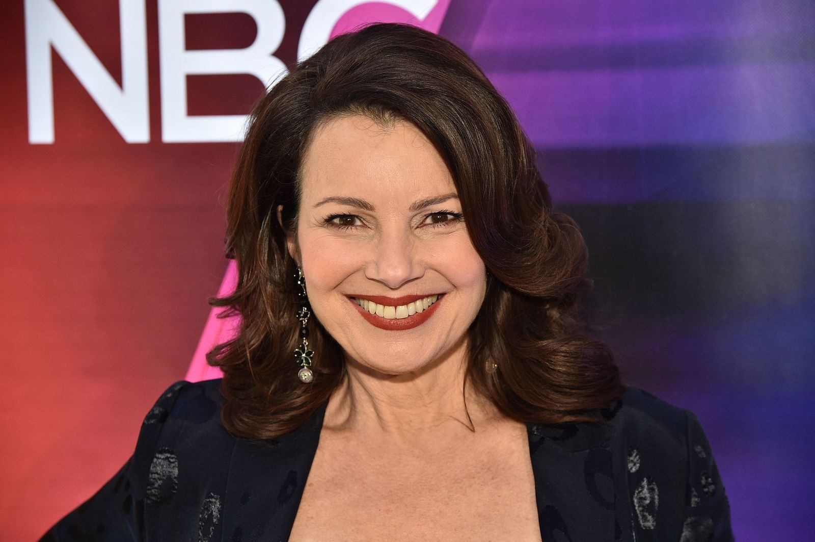 "Fran Drescher from ""Indebted"" at the NBC Midseason New York Press Junket at Four Seasons Hotel New York on January 23, 2020 