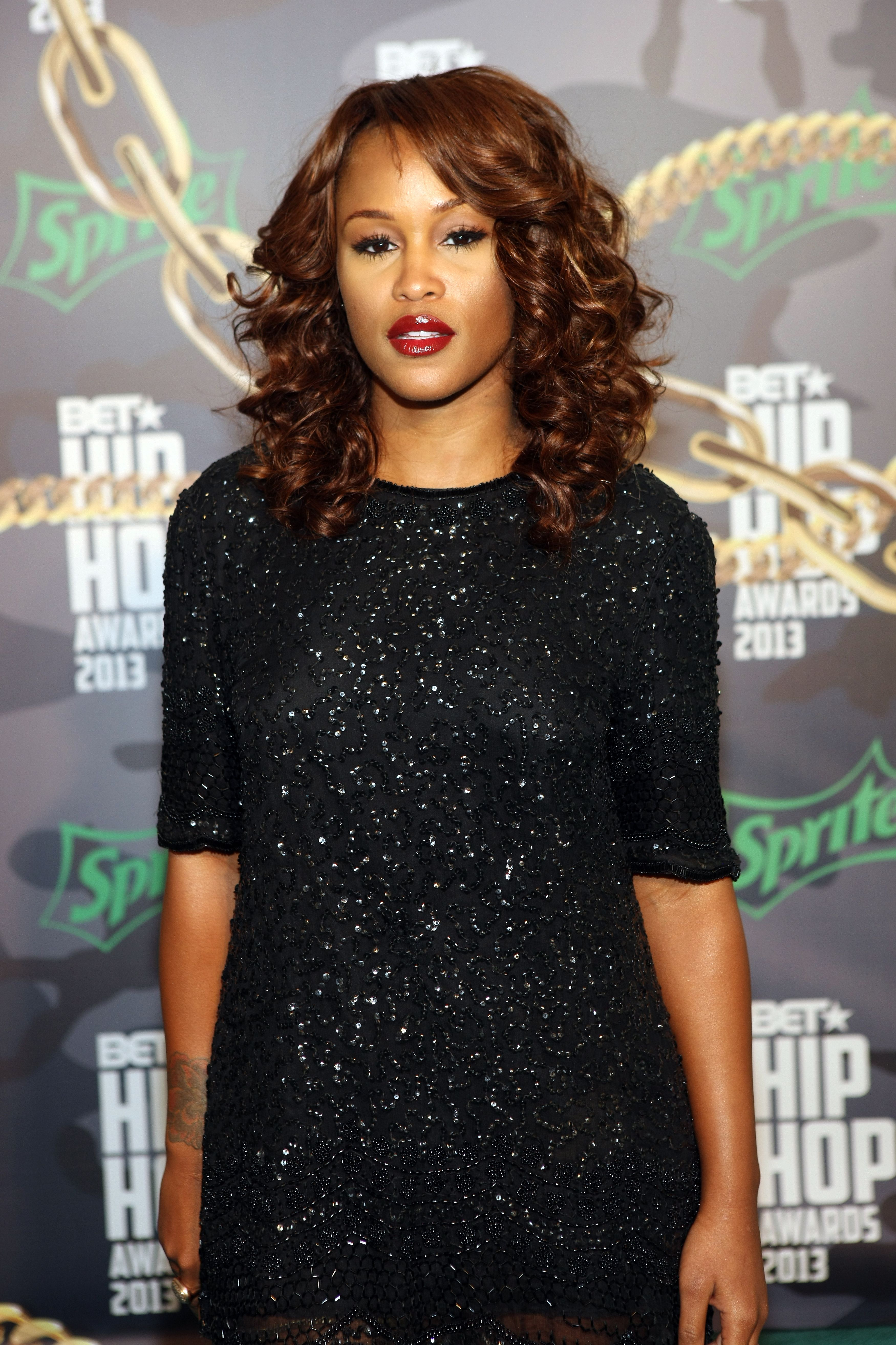 Eve at the BET Hip Hop Awards on Sept. 28, 2013 in Atlanta, Georgia   Photo: Getty Images