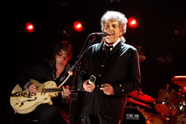 Bob Dylan at The Hollywood Palladium on January 12, 2012 in Los Angeles, California | Photo: Getty Images