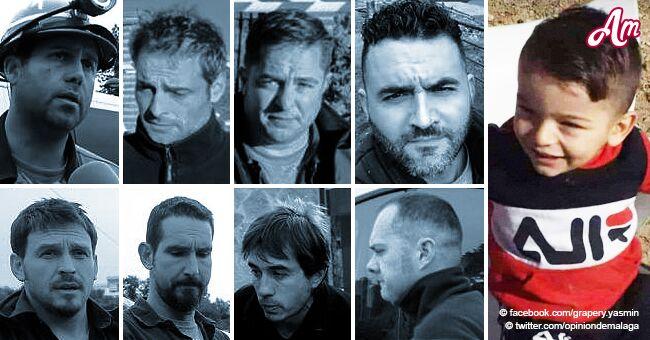 Verdaderos héroes dándolo todo: ellos son los 8 mineros que arriesgan su vida para rescatar a Julen