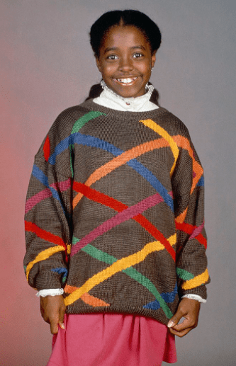 """Keshia Knight Pulliam as Rudy Huxtable on the 7th season of """"The Cosby Show""""   Photo: Getty Images"""