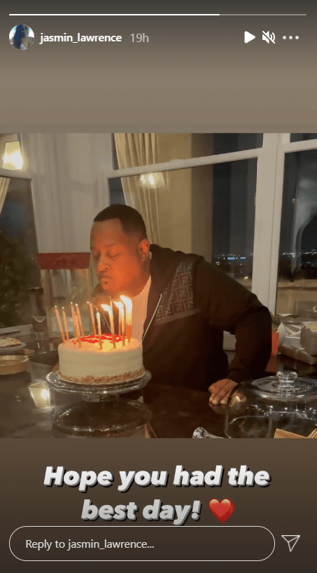 Jasmine Lawrence's birthday post for her father, Martin Lawrence. | Photo: instagram.com/jasmin_lawrence