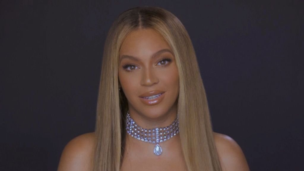 Beyoncé during the 20th annual BET Awards, June 2020   Source: Getty Images