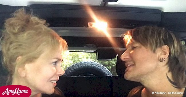 Keith Urban and Nicole Kidman sang in the car and their fans are loving it