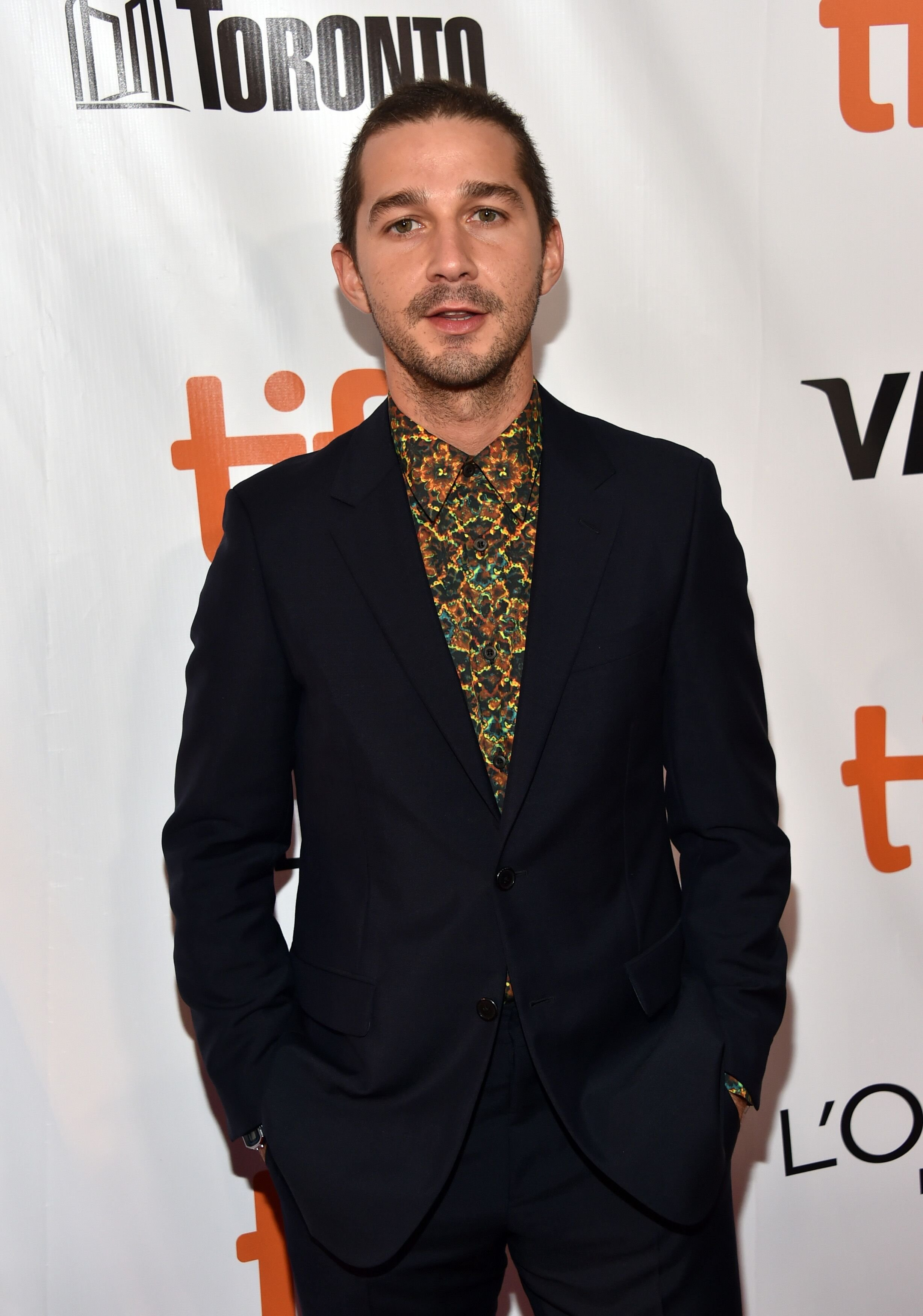 Shia LaBeouf attends the 'Borg/McEnroe' premiere. | Source: Getty Images