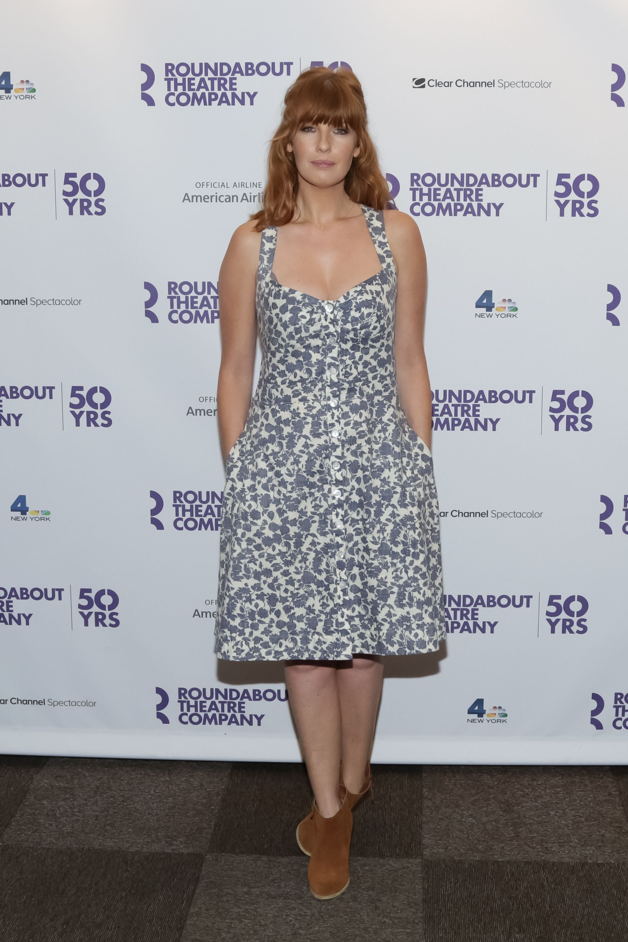 Kelly Reilly arrives for Roundabout's 50th anniversary season party held at the Roundabout Theatre Company on September 10, 2015 in New York City. | Photo:Getty Images