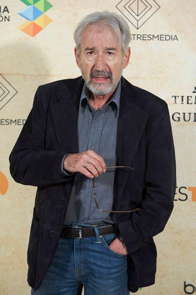 José Sacristán en el photocall 'Tiempo de Guerra', el 6 de septiembre de 2017 en Vitoria-Gasteiz, España. | Foto: Getty Images
