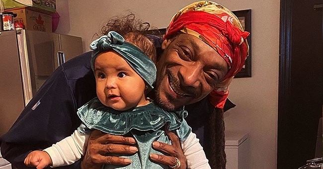 Snoop Dogg Glows with Happiness in New Photo with Granddaughter Wearing a Velvet Costume