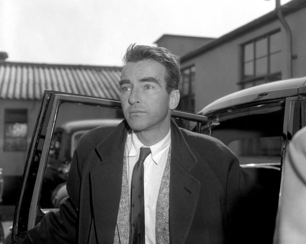 """Montgomery Clift at London Airport from New York to make the new film """"Suddenly, Last Summer"""" on 13 May, 1959   Photo: Getty Images"""