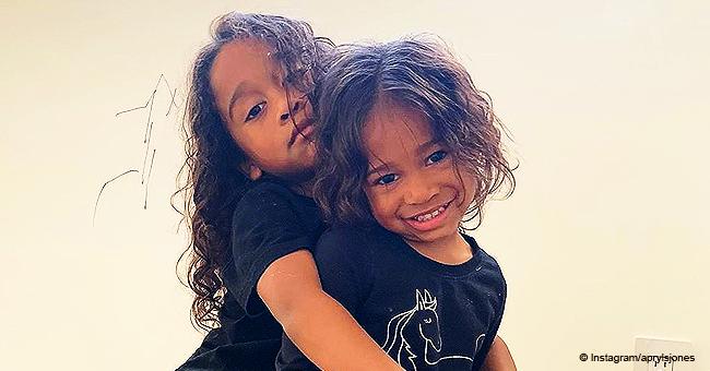 New Pic of Apryl Jones & Omarion's Kids Raises Questions