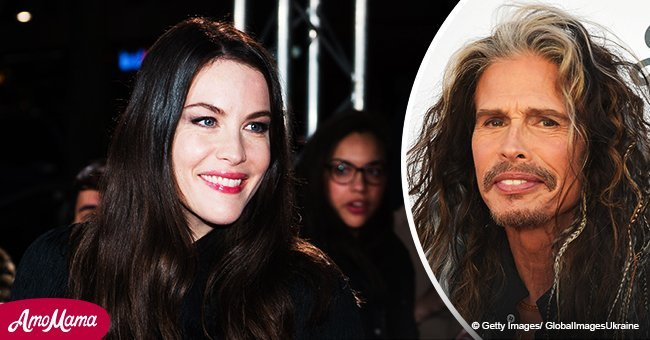 Liv Tyler shares a sweet throwback photo with Steven Tyler while celebrating his 70th birthday