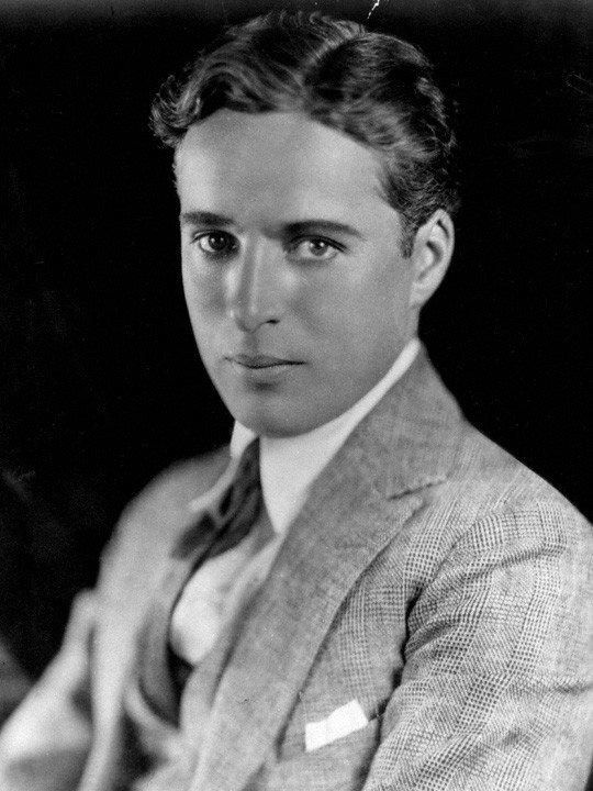 Retrato de Charles Chaplin en 1921 | Imagen tomada de: Wikimedia Commons