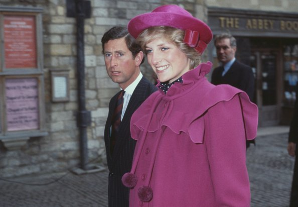 Prince Charles and the Princess Diana at Westminster Abbey, London, for a centenary service | Photo: Getty Images