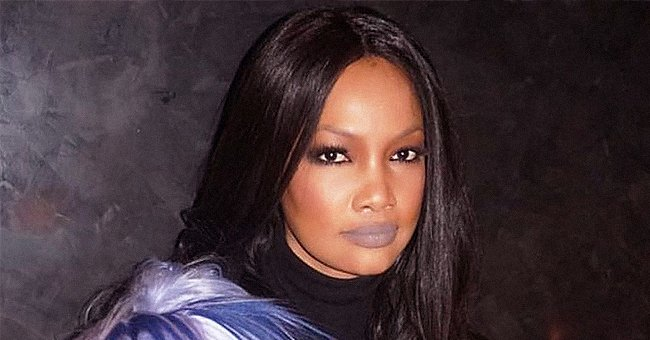 See Garcelle Beauvais of RHOBH Pull off Wearing Gray Lipstick in This Gorgeous Picture