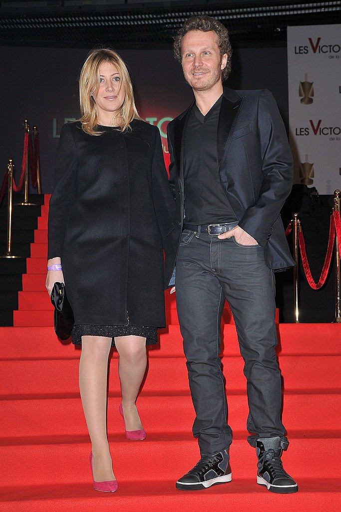 Amanda Sthers et Sinclair. l Source : Getty Images