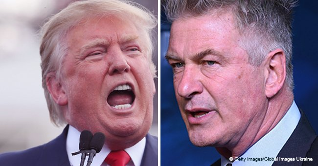 Alec Baldwin wonders if Donald Trump's response to a mocking 'SNL' episode contains 'threats'