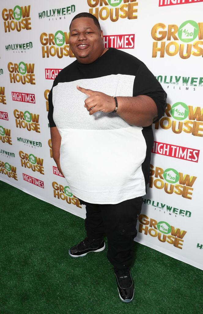 """Jamal Mixon attends the """"Grow House"""" World Premiere at W Los Angeles - Westwood on April 17, 2017 