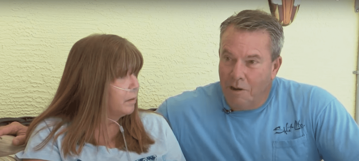 Donna Crane and her husband Gary share their experience with COVID-19. | Source: youtube.com/wesh