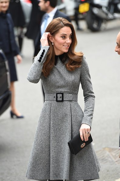 Duchess of Cambridge visits The Foundling Museum on March 19, 2019, in London, England. | Source: Getty Images.