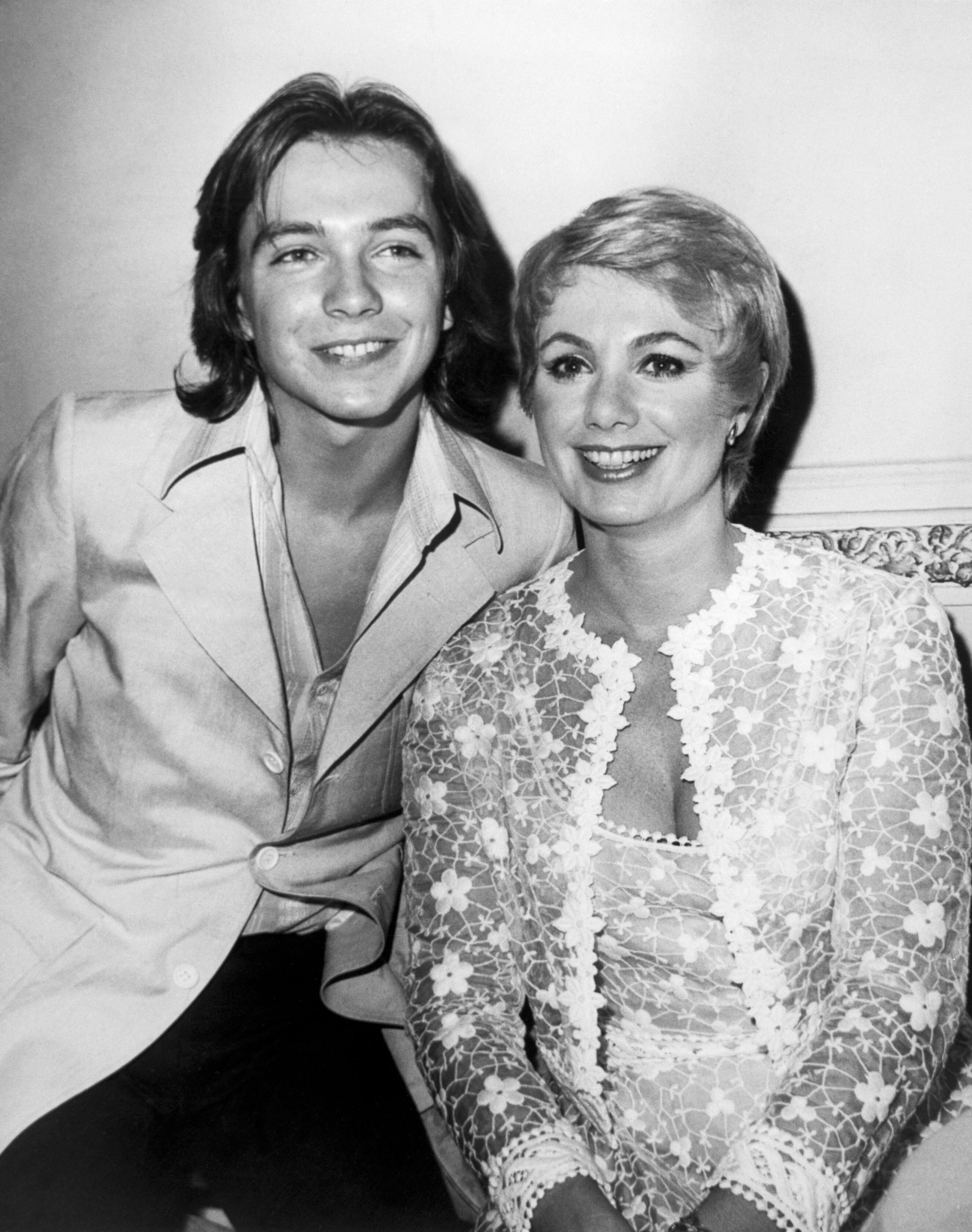 """Shirley Jones and stepson David Cassidy, stars of """"The Partridge Family""""; Picture on September 23, 1970 