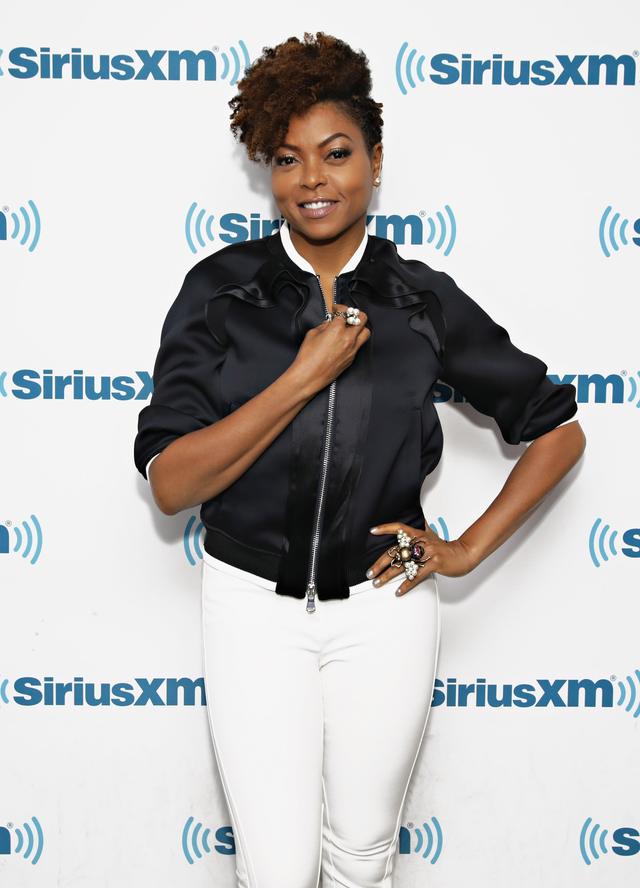 Taraji P. Henson at the SiriusXM Studios on Oct. 6, 2017 in New York City. | Photo: Getty Images