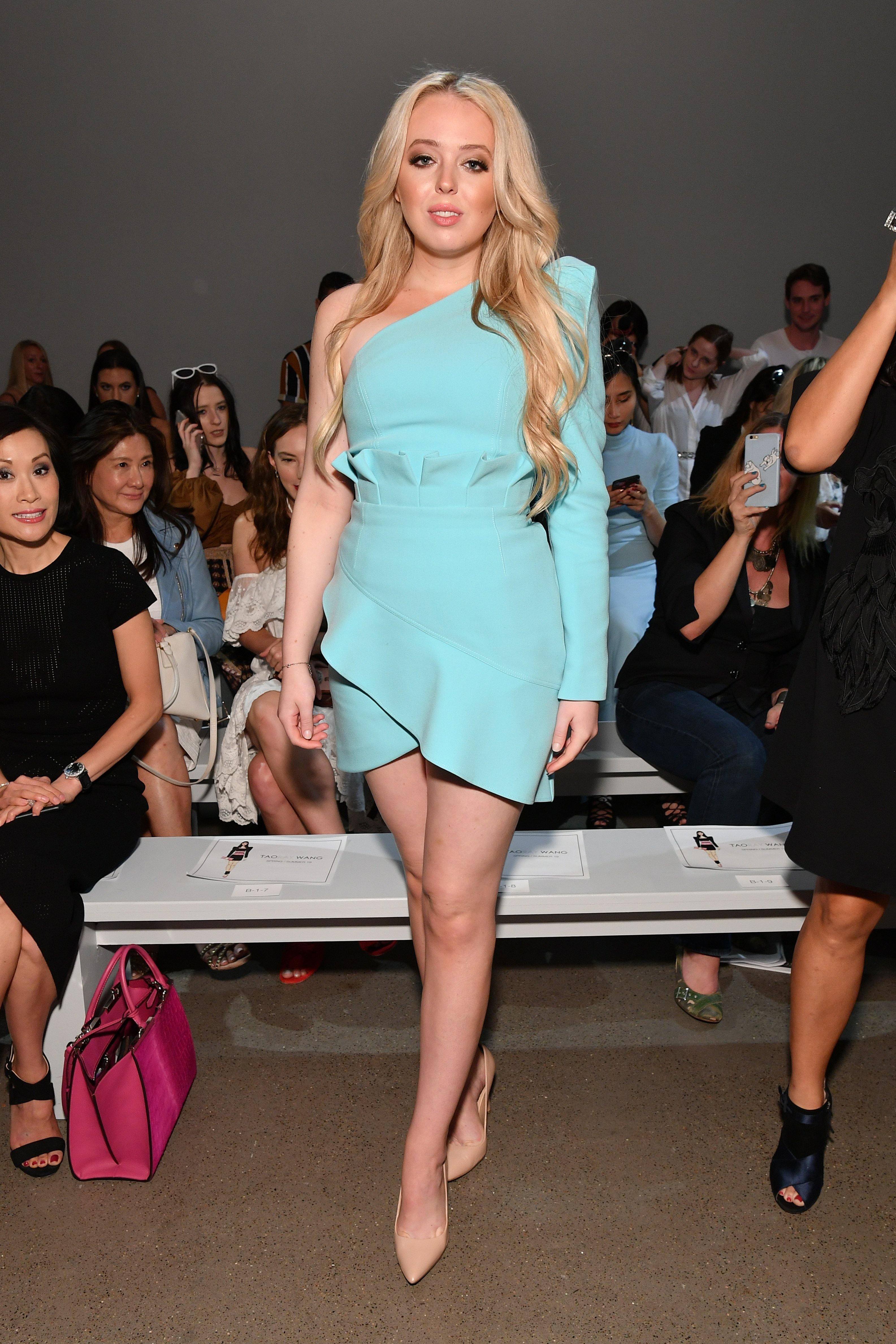 Tiffany Trump attends the Taoray Wang - Front Row during New York Fashion Week: The Shows at Gallery II at Spring Studios on September 8, 2018|Photo: Getty Images