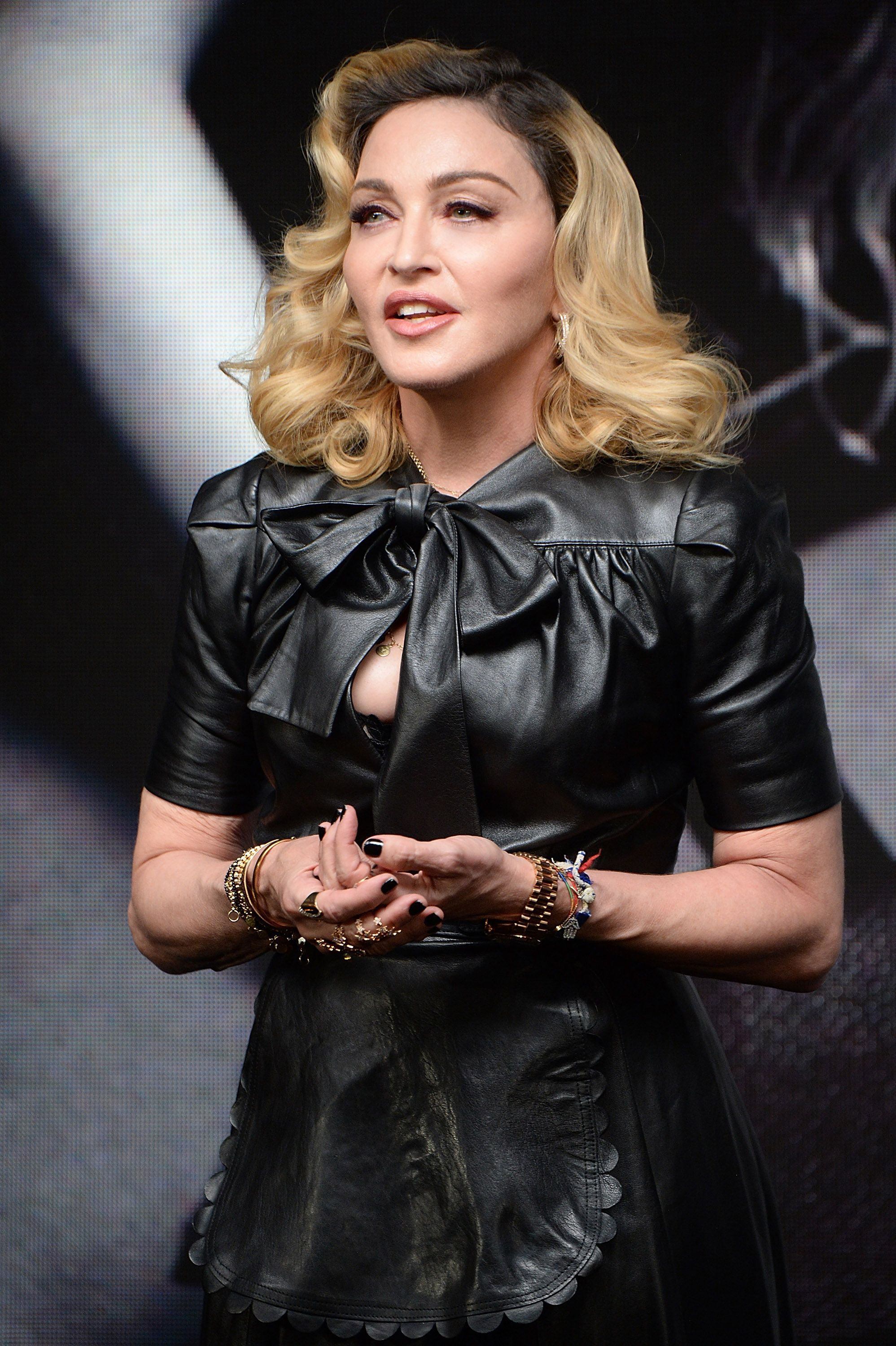 Madonna launches MDNA SKIN collection at Ludlow House on September 26, 2017 | Photo: Getty Images