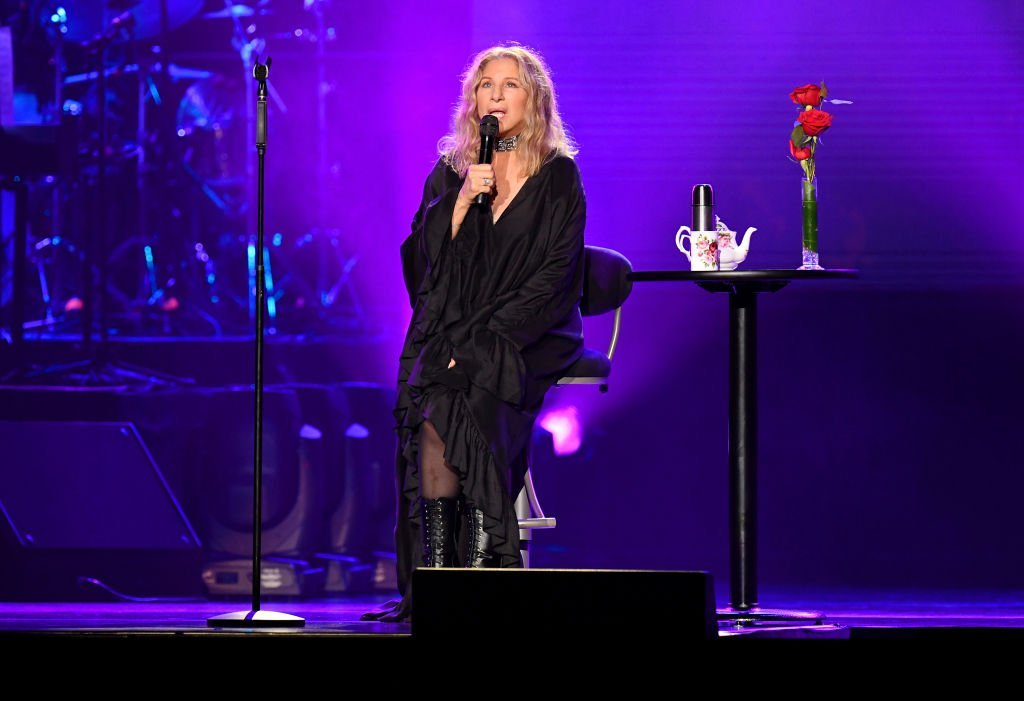 Barbra Streisand performs onstage at United Center in Chicago, Illinois | Photo: Getty Images