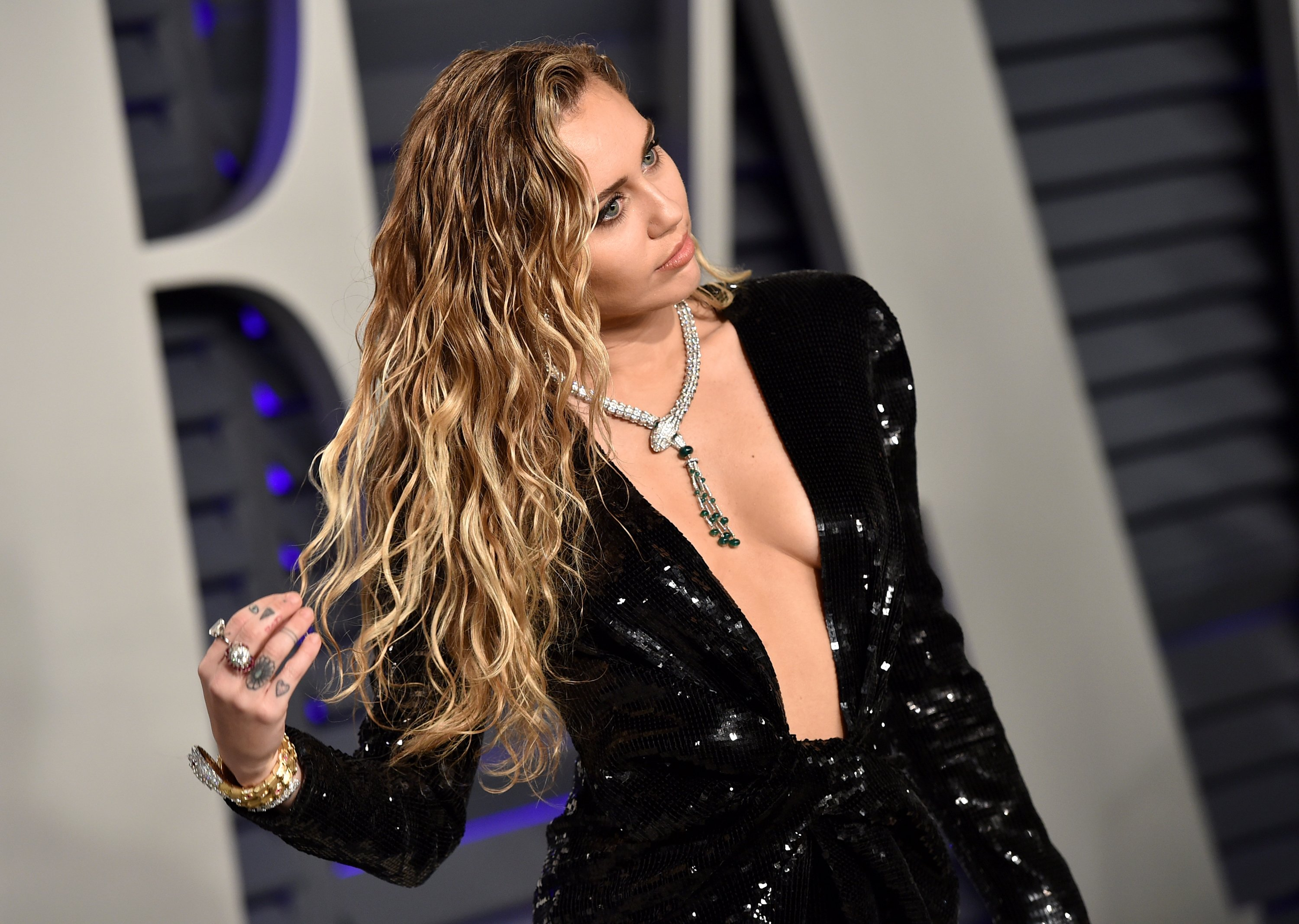"""Former Disney star Miley Cyrus, who recently released her new song """"Midnight Sky,"""" had ended her 10-month relationship with Australian singer Cody Simpson. 