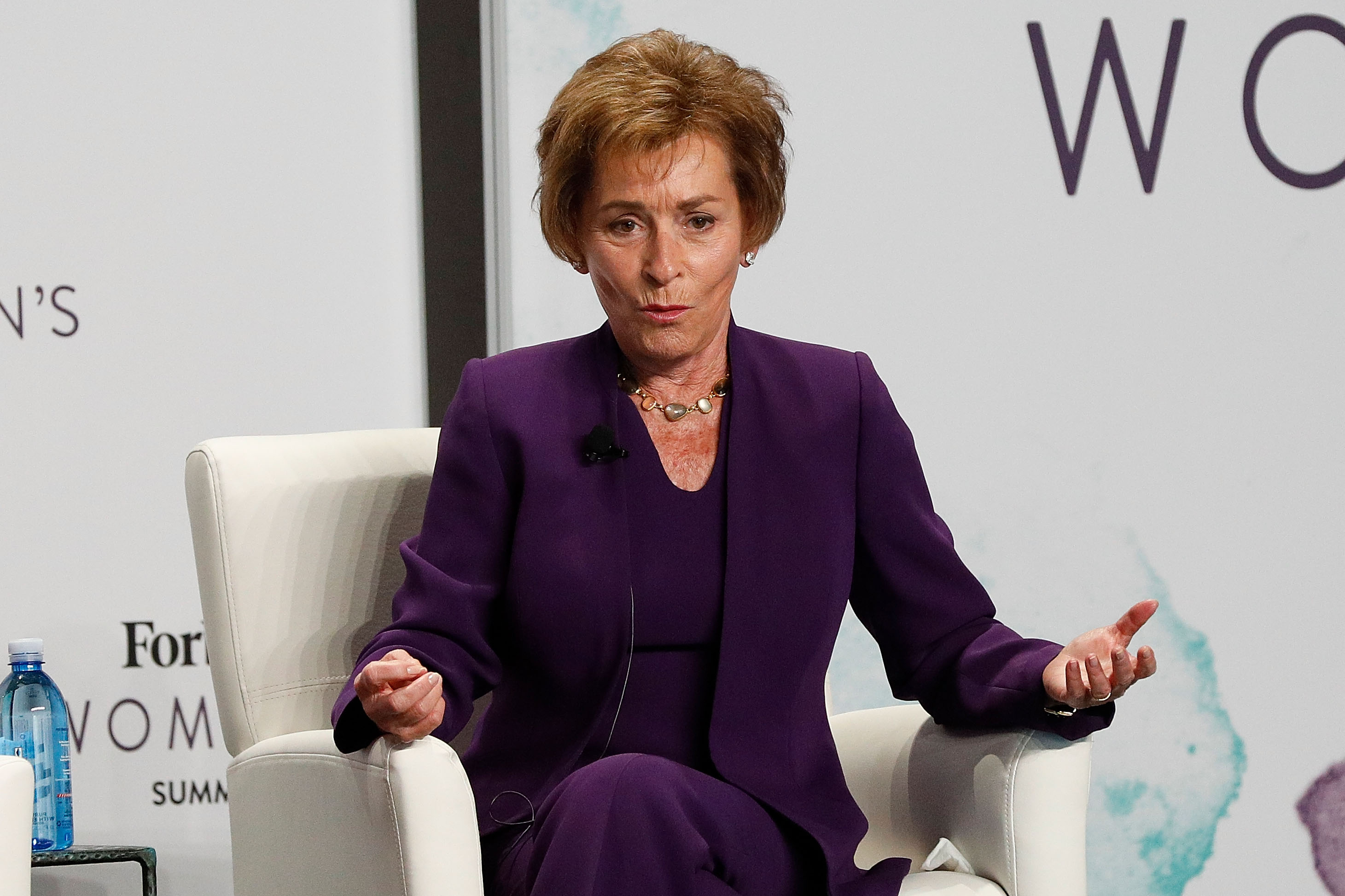 Judge Judy speaks during the 2017 Forbes Women's Summit at Spring Studios on June 13, 2017 in New York City   Photo: Getty Images
