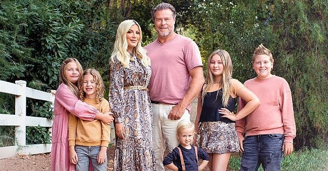 Tori Spelling & Dean McDermott Adopt New Rescue Dog and Welcome Him into Their Family of 5 Kids