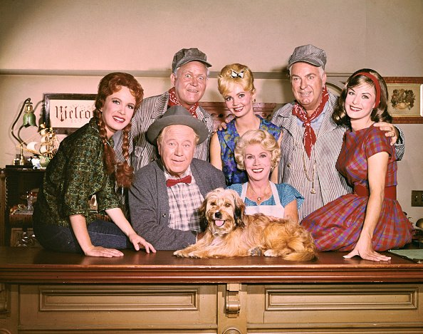 """Cast of the television series """"Petticoat Junction."""" (1963-1970). 